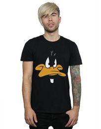 $enCountryForm.capitalKeyWord Australia - Looney Tunes Men's Daffy Duck Big Face T-Shirt 2019 short sleeve t shirt fashion brand design 100% cotton male quality print tshirts o-neck