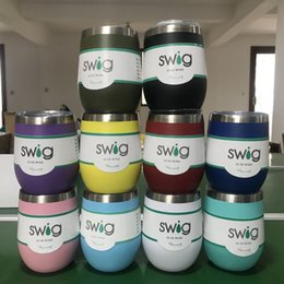 b9dd2ae3e6b SWIG 12oz 6oz Egg Cup Coffee Mug Tumbler 304 Red Wine Stainless Steel Mugs  With Lid Double Wall Vacuum Bottles Beer Tumblers Multiple Colors