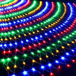 $enCountryForm.capitalKeyWord UK - LED 6M*4M 672 LEDs Web Net Light Fairy Christmas Home Garden Light Curtain Net Lights Net Lamps 110V 220V Super Bright String Light