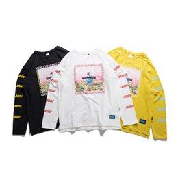 $enCountryForm.capitalKeyWord Australia - Aelfric Eden Letter Print T-shirts Men Pullover 2019 Design Autumn Winter Tops Tees Harajuku Long Sleeve Casual Streetwear H1