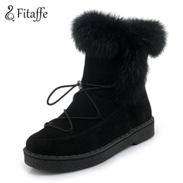 $enCountryForm.capitalKeyWord NZ - Fitaffe Women's Winter Boots Lace-up Platform Shoes Woman Chunky Ankle Boots Winter Warm Snow Boots Size20-55 Botas Mujer Gd081