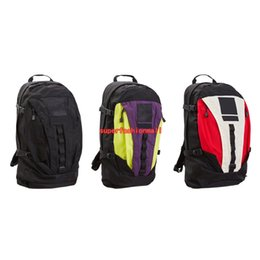2017 backpack Brand New Box Logo Designer Bags Men Women Fashion Sports Bags Black White Blue Red Outdoor Basketball Backpack 3 Colour