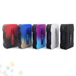 Abs metAl online shopping - Original Tesla WYE II W Mod Teslacigs WYE with Inch OLED Screen Advanced PC ABS Material Smarter Chip DHL Free