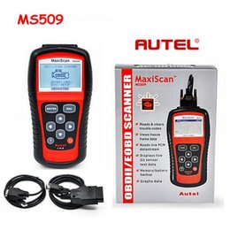 autel maxiscan obd2 Australia - MaxiScan Diagnostic Tool MS509 Autel MS OBDII OBD2 EOBD Automotive Code Reader Scanner Work for US Asian European Car
