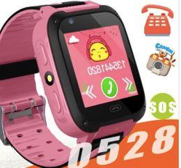 Sos Camera Australia - Q528 Kids Smart Watch Kid SmartWatch 1.44 Inch Touch Screen SOS Emergency GPRS Alarm Camera Anti-lost Clock Wristwatch Baby Clock