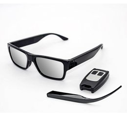 security sunglasses Australia - Smart Glasses Touch Sunglasses Camera Mini Sports DV Eyewear Video Recorder HD 1080P Remote Control Eyeglasses Security Surveillance DVR