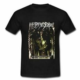 $enCountryForm.capitalKeyWord Australia - MY DYING BRIDE For Darkest Eyes English Doom Metal Band BlaShort-Sleeve T-shirt tee S-3XL
