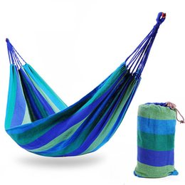 Wholesale 190 cm Camping Sleeping Bag Hammock Outdoor Hanging Bed Swing Sleeping Bag With Drawstring Sack for Camping Travel Beach