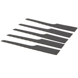 $enCountryForm.capitalKeyWord Australia - 10pcs Bimetallic 32T Tooth Reciprocating Air Saw Blades 94mm Length Wood Fiberglass Plastic Rubber Cutting Off Tool