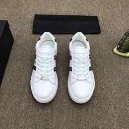 Springs Concrete NZ - Brand 18ss Shoe Cloudbust P Causal Shoe Magic Tie Slip On Spring New White Brown Black Men Shoe 38-44 010334