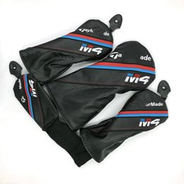 M4 Golf Driver headcover fairway wood head cover 1 3 5 golf clubs protector 3pcs headcover