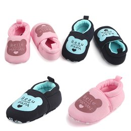 Infants Walkers NZ - Baby Girls Shoes Infant Baby Girls Letter Printed Soft Sole Shoes Toddler shoes Baby Anti-slip First Walker chaussure fille D12