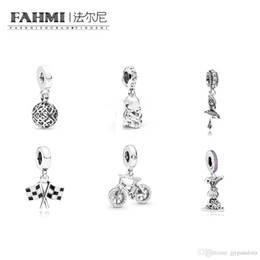 $enCountryForm.capitalKeyWord Australia - FAHMI 100% 925 Sterling Silver Ballerina Racing Finish Line Dangle Charm Rabbit Harmonious Hearts Brilliant Bicycle Hanging Charm Pendants