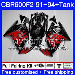 $enCountryForm.capitalKeyWord Canada - Body+Tank For HONDA CBR 600F2 CBR600FS CBR600F2 91 92 93 94 288HM.17 CBR 600 F2 FS CBR600 F2 Stock red blk 1991 1992 1993 1994 Fairing kit