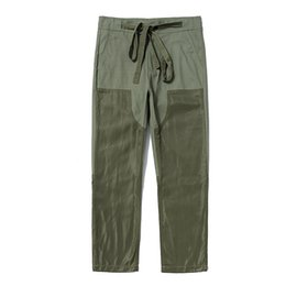 $enCountryForm.capitalKeyWord UK - Fear of God high street street casual pants casual versatile tooling color matching stitching sports casual trousers