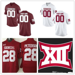 Custom Mens Oklahoma Sooners College Football Limited Old Red white Personalized  Stitched Any Name Number  3  6  14  28 cheap Jerseys XS-5XL 08c24cb58