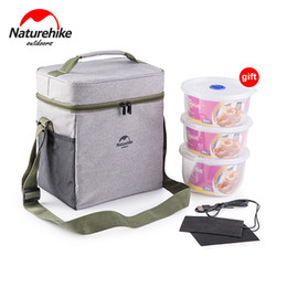 Picnic Ice Packs Australia - Naturehike 3 In 1 Outdoor Multifunctional Picnic Ice Bag Foldable Keep Warm Cold Fresh Lunch Pack Isothermic Container Bag
