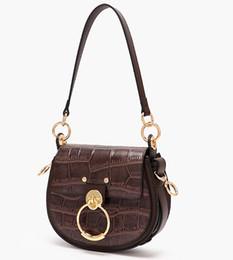 $enCountryForm.capitalKeyWord NZ - Small Tess Saddle Bag Famous Brand Designer Inspired Microfiber Leather Drew Purse Crossbody Shoulder Satchel For Women
