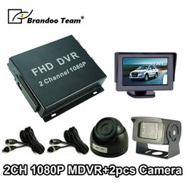 $enCountryForm.capitalKeyWord NZ - Truck Surveillance Kit, 2 channel 1080P FULL HD DVR, inside and outside used Car camera with IR night vision,Fleet DVR system