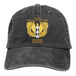 $enCountryForm.capitalKeyWord Australia - 2019 New Cheap Baseball Caps US Army Retired Chief Warrant Officer Emblem CW2 Mens Cotton Adjustable Washed Twill Baseball Cap Hat
