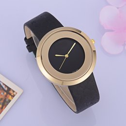new model nude UK - New Simple model Fashion wristwatch women rose gold red leather Wristwatches female clock free shipping