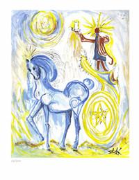 $enCountryForm.capitalKeyWord Australia - Salvador Dali Abstract Art Horse Of Triumph,Oil Painting Reproduction High Quality Giclee Print on Canvas Modern Home Art Decor