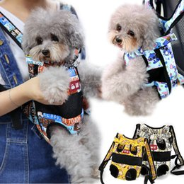 Pet Carrying Bags Australia - Luxury Pet Backpack Carrier Cute Small Medium Animal Dog Cat Outdoor Travel Transport Carrying Shoulder Front Back Bag Product Y19061901