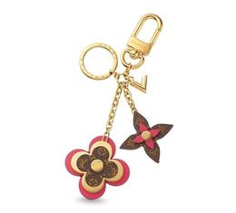 $enCountryForm.capitalKeyWord Australia - Flowers M63084 Blooming New Keychain Holders More Leather Bracelets Chromatic Bag Charm And Key Holder Scarves Belts