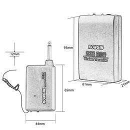 $enCountryForm.capitalKeyWord NZ - VHF Stage Wireless Lavalier Lapel Headset Microphone System Mic FM Transmitter LCC77