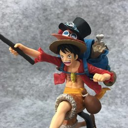 Anime One Piece Monkey D Luffy Cowboy Ver Pvc Action Figure Collectible Model Doll Toy 20cm Handsome Appearance Action & Toy Figures