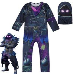 Battle Royale Crianças Meninos Palhaço roupas de ação de graças Cosplay Roupas Trajes de Halloween Ninja Ninjago Partido Engraçado RAVEN Roupas venda por atacado