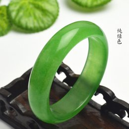 Jade bangle quality online shopping - 60 mm Inner Diameter Grade A High Quality Natural Jade Bangles Fine Gemstone Jade Bracelet Jewelry For Women Gifts