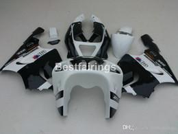 KawasaKi zx7r fairing blacK white online shopping - Bodywork free customize fairings for Kawasaki Ninja ZX7R white black fairing kit ZX7R TY45