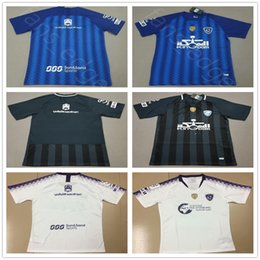b6e512a819 2019 2020 Al-Hilal Saudi Football Club Soccer Jerseys 18 19 Al-Hilal Saudi  Home Blue Black Away EDUARDO BOTIA CARRILLO KHRBIN shirt uniform