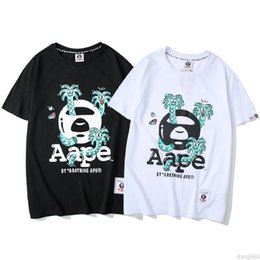 Sports T Shirts Design For Men Australia - Summer Brand Design T Shirts for Men Women T-Shirts Couple Fashion Cotton Print Black White Short Sleeve Tops Casual Sports Tee Top