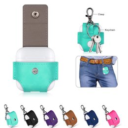 Package house online shopping - For Airpod Case Cover Convenient Protective PU Leather Clasp Slim Soft Shockproof Protective Housing High Quality