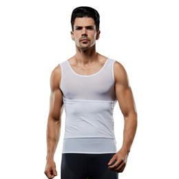 a400c66727 Gynecomastia Slimming Shapers Men Corset Abdomen Control Belly Tummy Chest  Trimmer Corrector Compression Vest Shapewear for Male