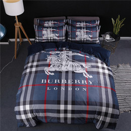 $enCountryForm.capitalKeyWord Australia - High Grade Bedding Sets New Arrive Printed Bed Cover Sets Horse Print American Sheets Suit Four Pieces
