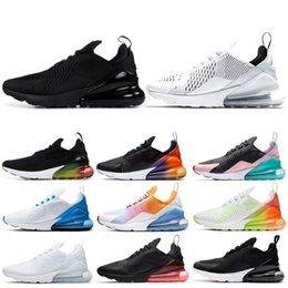 $enCountryForm.capitalKeyWord Australia - Newest men women outdoor shoes triple black SUMMER GRADIENTS Photo Blue BARELY ROSE mens Rainbow trainer sneakers running shoes runner