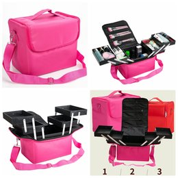 $enCountryForm.capitalKeyWord Australia - Cosmetic Bag Multi-storey Professional Portable Makeup Case Make up Storage Box outdoor portable box handbag shoulder bags FFA2631