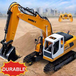 $enCountryForm.capitalKeyWord Australia - RC Car 10 Channel RC Crawler Kit 2.4G 1 14 Excavator Charging With Battery Excavator RTR Toys for kids Gift