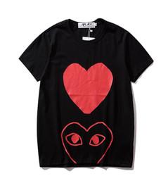 $enCountryForm.capitalKeyWord Australia - palaces men Designer heart tshirt summer cotton t shirt classic Slim fit Breathable t shirts mens clothing Brand high quality couple tees 15