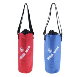 $enCountryForm.capitalKeyWord Australia - Bottle Wine Tote Carrier Portable Insulated Camping Travel Drink Carrying Bag with Adjustable Shoulder Strap Picnic Bags