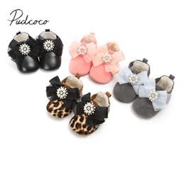 $enCountryForm.capitalKeyWord Australia - Pudcoco 2019 Toddler Baby Shoes Newborn Kid Girls Soft Soled Princess Crib Cotton Ribbon Shoes Prewalker 0-18M