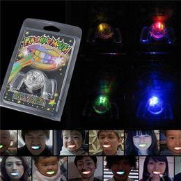 $enCountryForm.capitalKeyWord UK - Flashing LED Light Up Mouth Braces Piece Glow Teeth For Halloween Party LED Rave Toys Flashing Teeth Mouth Toy DHL SS156
