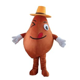 potato mascot 2019 - Custom Potato Mascot Costume Adult Size Costume With A Mini Fan Inside Head For Commercial Advertising Carnival Party ch