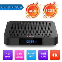 $enCountryForm.capitalKeyWord NZ - 2019 4GB 32GB Smart TV Box Android 8.1 Rockchip RK3328 Quad Core Mini PC Wifi M9S J2 4GB 32GB Set Top Box Wifi 4K HDR Media Player USB3.0