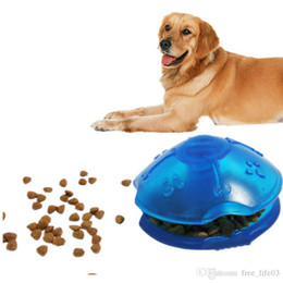Pet Puzzle Toys Australia - Free Shipping Fashion Style Plastic Dog Toys Leakage of Food Whipping Top Puzzle Trainer Fun and Relaxing for Dog Pet Supplies