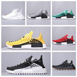 $enCountryForm.capitalKeyWord UK - 2020 New arrival BBC blue red green plaid humanrace mens sport running shoes Hu Pharrell Solar Pack Mother Orange women designer Sneakers