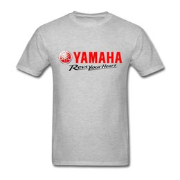 Men S Tees Australia - Free Shipping Men T Shirt Exercise Motor T-Shirts Men Cotton Plus Size Yamaha Tee Shirts Short Sleeve S-3XL